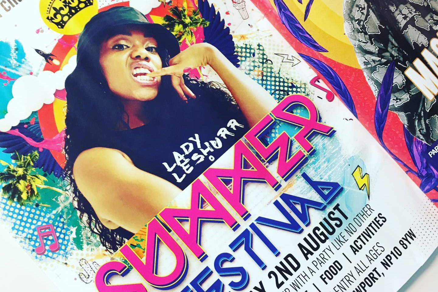 Lady Leshurr at Urban Circle's Summer Festival